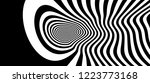 pattern with optical illusion.... | Shutterstock .eps vector #1223773168