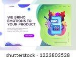 set of web page design...