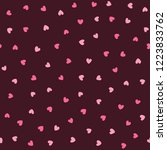 cute seamless pattern with... | Shutterstock .eps vector #1223833762