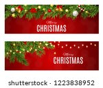 abstract beauty christmas and... | Shutterstock . vector #1223838952