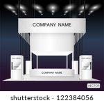 premium trade exhibition   Shutterstock .eps vector #122384056