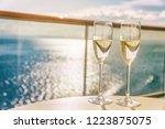 luxury cruise ship travel...   Shutterstock . vector #1223875075