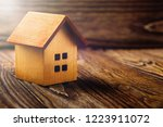 real  estate concept with small ... | Shutterstock . vector #1223911072