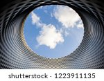 closeup detail of the modern... | Shutterstock . vector #1223911135