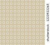 golden vector seamless pattern... | Shutterstock .eps vector #1223922265