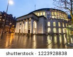 manchester central library....   Shutterstock . vector #1223928838