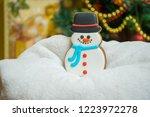 gingerbread for christmas  ... | Shutterstock . vector #1223972278