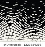 abstract seamless geometric... | Shutterstock .eps vector #1223984398