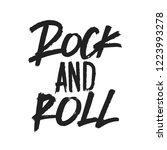 rock and roll music vector... | Shutterstock .eps vector #1223993278