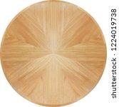 natural mahogany wood veneer... | Shutterstock . vector #1224019738