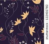 floral pattern | Shutterstock .eps vector #122402782
