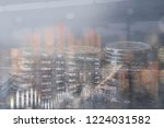 business and finance concept....   Shutterstock . vector #1224031582