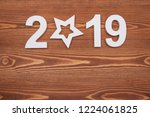 new year concepts countdown...   Shutterstock . vector #1224061825
