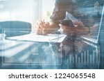 business analysis concept.... | Shutterstock . vector #1224065548