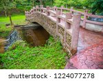 image of water stream at pong... | Shutterstock . vector #1224077278