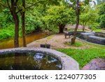 image of water pond at pong nam ... | Shutterstock . vector #1224077305