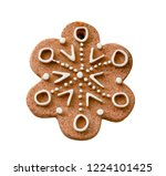 christmas and new year with... | Shutterstock . vector #1224101425