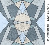 vintage geometric seamless...   Shutterstock .eps vector #1224127648