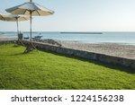 view of the beautiful beach... | Shutterstock . vector #1224156238