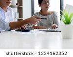 start up partners are... | Shutterstock . vector #1224162352