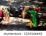 cloth 3 colors according to... | Shutterstock . vector #1224166642