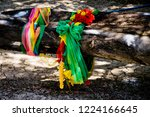 cloth 3 colors according to... | Shutterstock . vector #1224166645