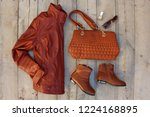 women's clothing and... | Shutterstock . vector #1224168895