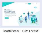 modern flat design concept of... | Shutterstock .eps vector #1224170455