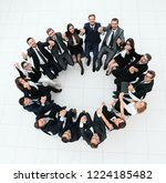 concept of team building.large... | Shutterstock . vector #1224185482
