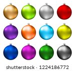 Colorful Christmas Baubles....