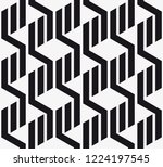 vector seamless pattern.... | Shutterstock .eps vector #1224197545