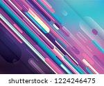 abstract wallpaper design in... | Shutterstock .eps vector #1224246475
