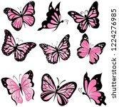Set Of Beautiful Pink...