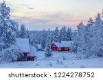 Winter Landscape Scenery In...