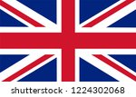 united kingdom flag  vector... | Shutterstock .eps vector #1224302068