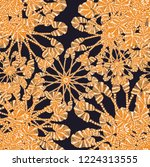 floral pins deisgn | Shutterstock . vector #1224313555