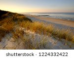 sand dunes on the coast of the... | Shutterstock . vector #1224332422