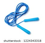Jump rope on white background ...