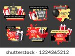 special promotion on exclusive... | Shutterstock .eps vector #1224365212