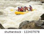 Raft Whitewater Water White...