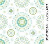 seamless abstract pattern of...   Shutterstock .eps vector #1224381295