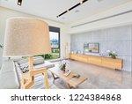 luxury modern home interior... | Shutterstock . vector #1224384868