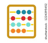 abacus icon   education icon  ... | Shutterstock .eps vector #1224395452