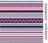texture knitted. winter... | Shutterstock .eps vector #1224403642