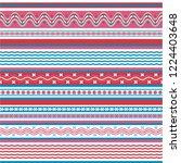 texture knitted. winter... | Shutterstock .eps vector #1224403648