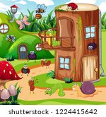 Insect In The Fairy House...