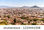 athens city panorama taken on... | Shutterstock . vector #1224441508