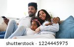 picture of happy family... | Shutterstock . vector #1224445975