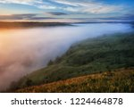 fog in the canyon of a... | Shutterstock . vector #1224464878