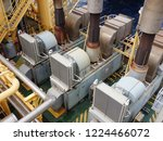 gas turbine generator  | Shutterstock . vector #1224466072